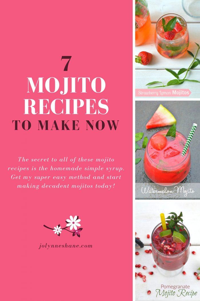 Mojito Recipe Roundup