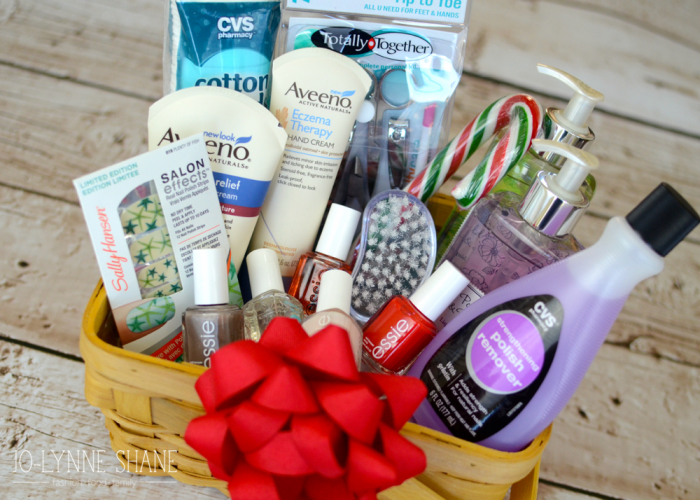 Holiday Gift Idea: DIY Manicure Gift Basket