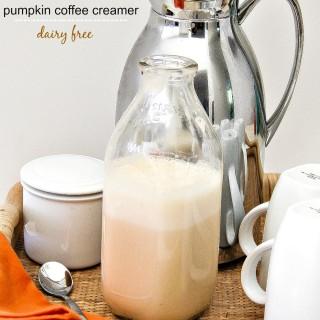 dairy free pumpkin coffee creamer