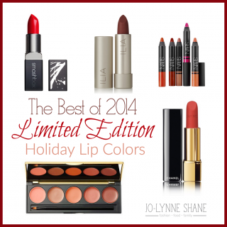 HOT Limited Edition Lipstick Colors for Holiday 2014