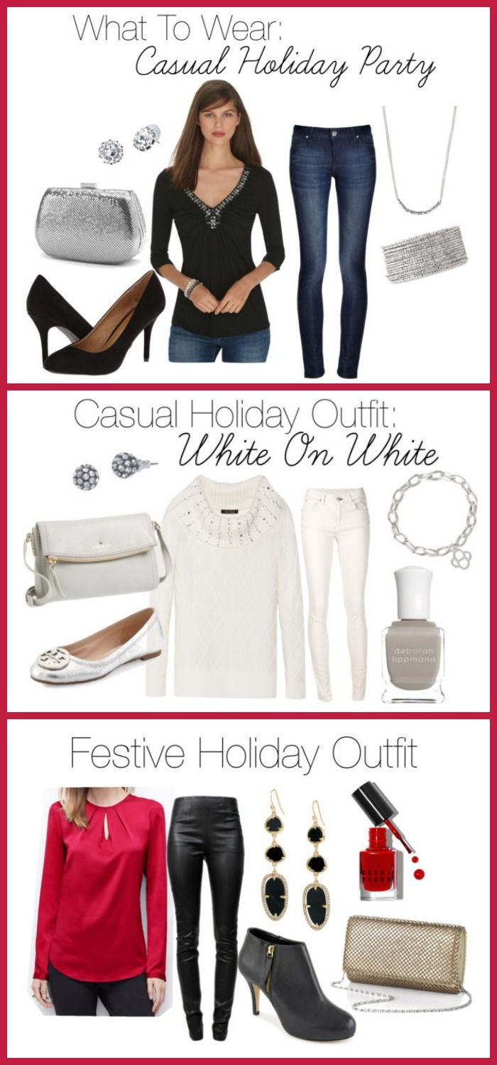 Christmas dress casual - What To Wear To A Casual Holiday Party At Home