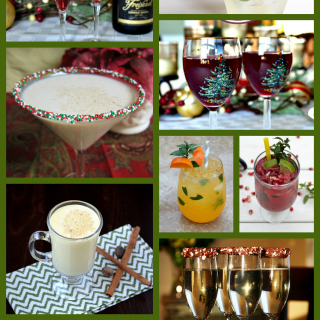 25 Holiday Cocktail Recipes for all of your festive occasions this holiday season!