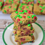 Easy Holiday Dessert Recipe: Festive M&M Bars