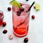 Cranberry Vodka Spritzers