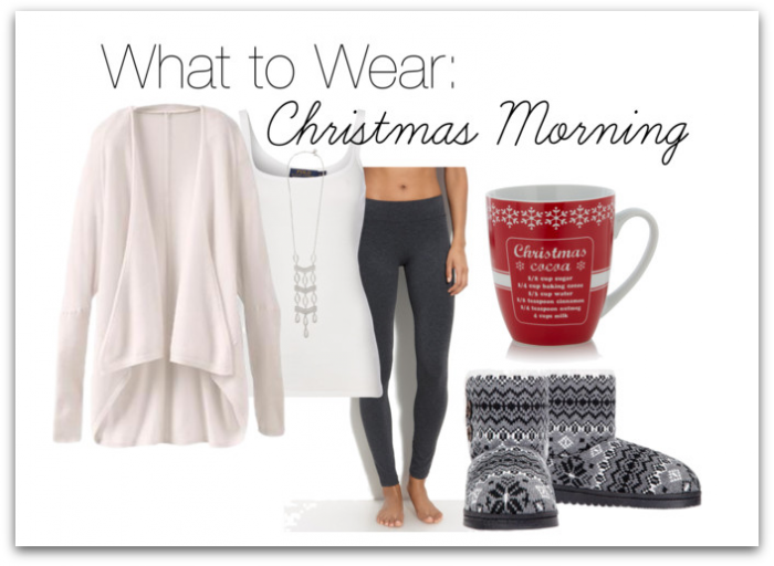 Over 40 what to wear on christmas morning and later on for christmas