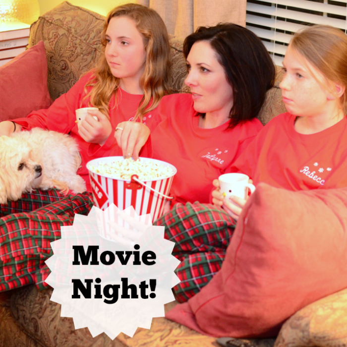 Holiday Traditions: Family Movie Night