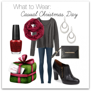 What To Wear: Casual Christmas Day