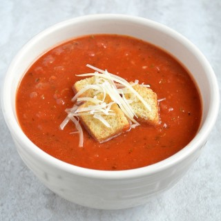 Easy Homemade Tomato Soup in 20 Minutes or Less!