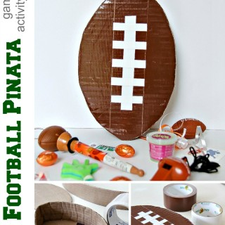 DIY Football Piñata: Game Day Activity for Kids