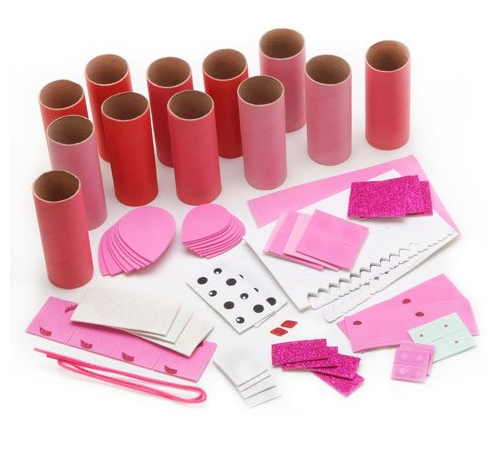Foamies® Craft Roll Valentine's Day Critters Craft Project for Kids - Owl, Butterfly and Bear