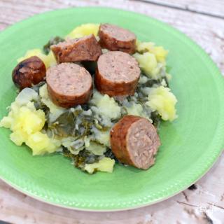 EASY Weeknight Dinner Recipe: Kale Mash