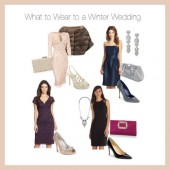 Fashion Advice: What to Wear to A Winter Wedding