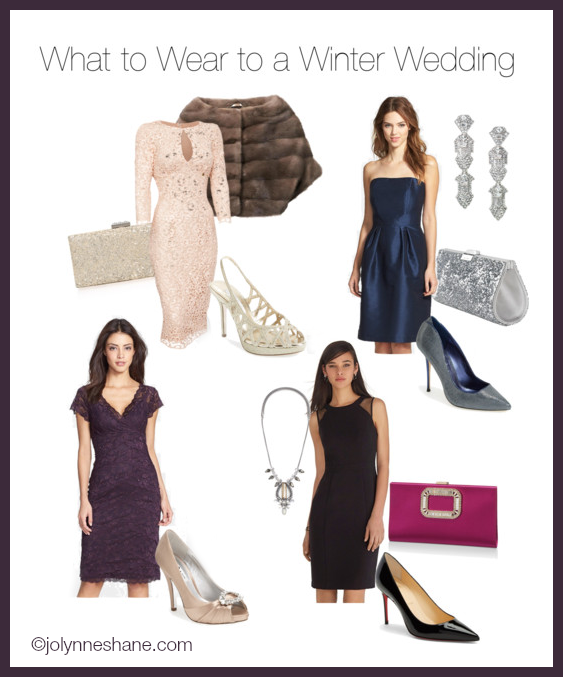 Fashion advice what to wear to a winter wedding for What color shoes to wear with black dress to wedding