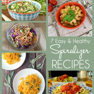 7 Healthy & Easy Spiralizer Recipes