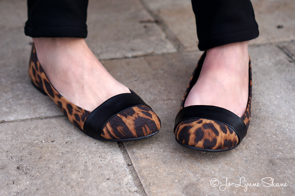 Christian Siriano for Payless Leopard Bandit Flats