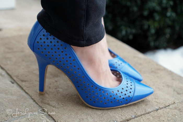 Christian Siriano for Payless Manic Perforated Pumps