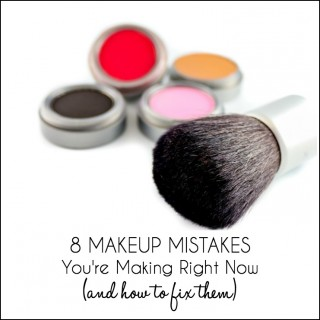 8 Makeup Mistakes You're Making Right Now
