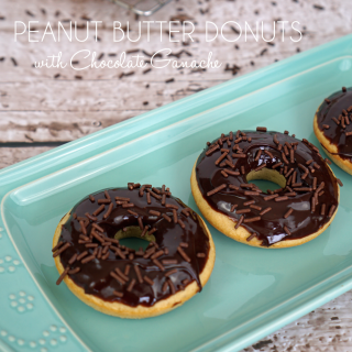 Gluten-Free Peanut Butter Donut Recipe and An Introduction to ALDI