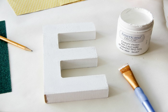 how to make diy wood letters with mod podge and scrapbook paper