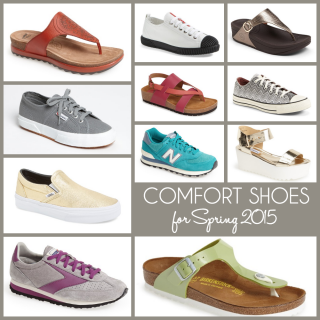 Trend Alert: Comfort Shoes for Spring 2015