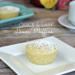 Quick & Easy Lemon Muffins