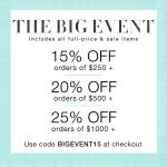 Shopbop The Big Event