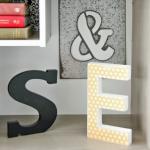 DIY Decorative Wood Letters