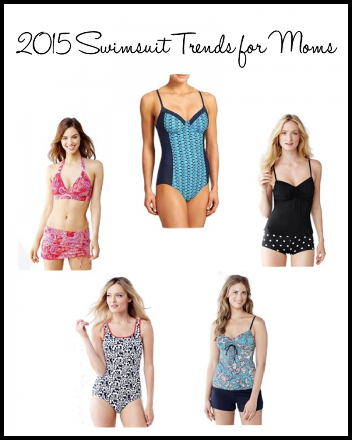 2015 Swimsuit Trend for Moms