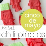 Cinco De Mayo Craft: Mini Chili Piñatas