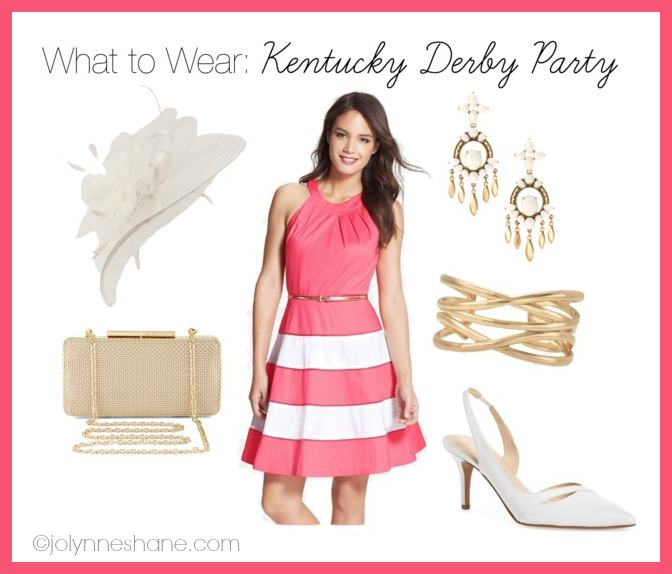 Kentucky derby style dress
