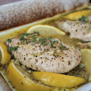 baked lemon chicken recipe