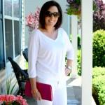 Spring Outfit Ideas: White On White #FashionFriday