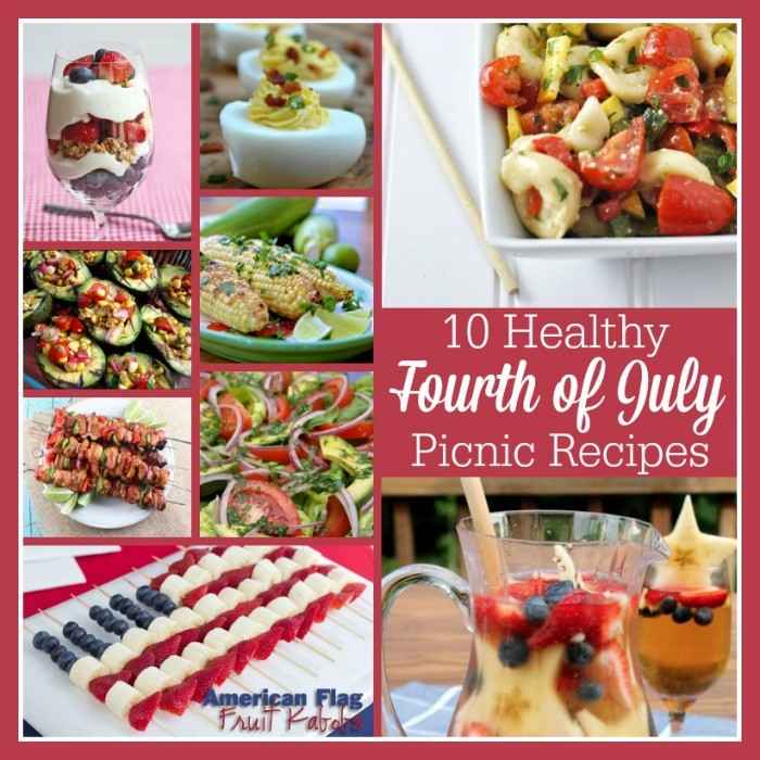 Healthy Recipes for July 4th