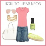 Fashion Over 40: How to Wear Neon