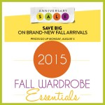 2015 Fall Wardrobe Essentials Under $100