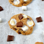 S'more Cookies + Ice Cream Sandwiches