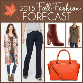 2015 Fall Fashion Forecast: You will want to add these 6 wearable fall 2015 trends to your wardrobe this year!