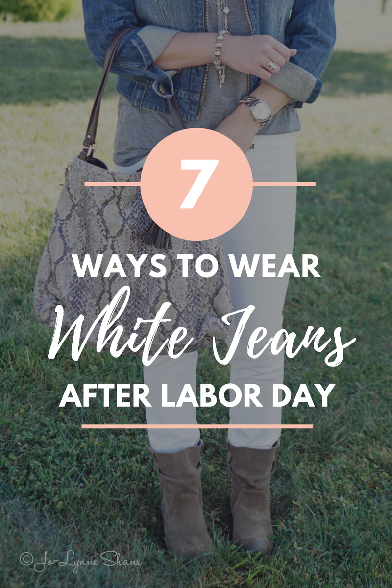 But for the fashion literate—even those only mildly so—Labor Day has a tertiary meaning: the official date after which it's no longer appropriate to wear white. Jeans, sneakers, casual shirts—wearing white after Labor Day is a surefire way to get in trouble with the fashion police.