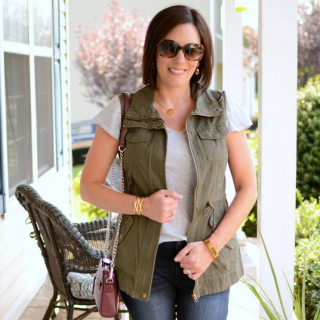 26 Days of Fall Outfits featuring Utility Vest