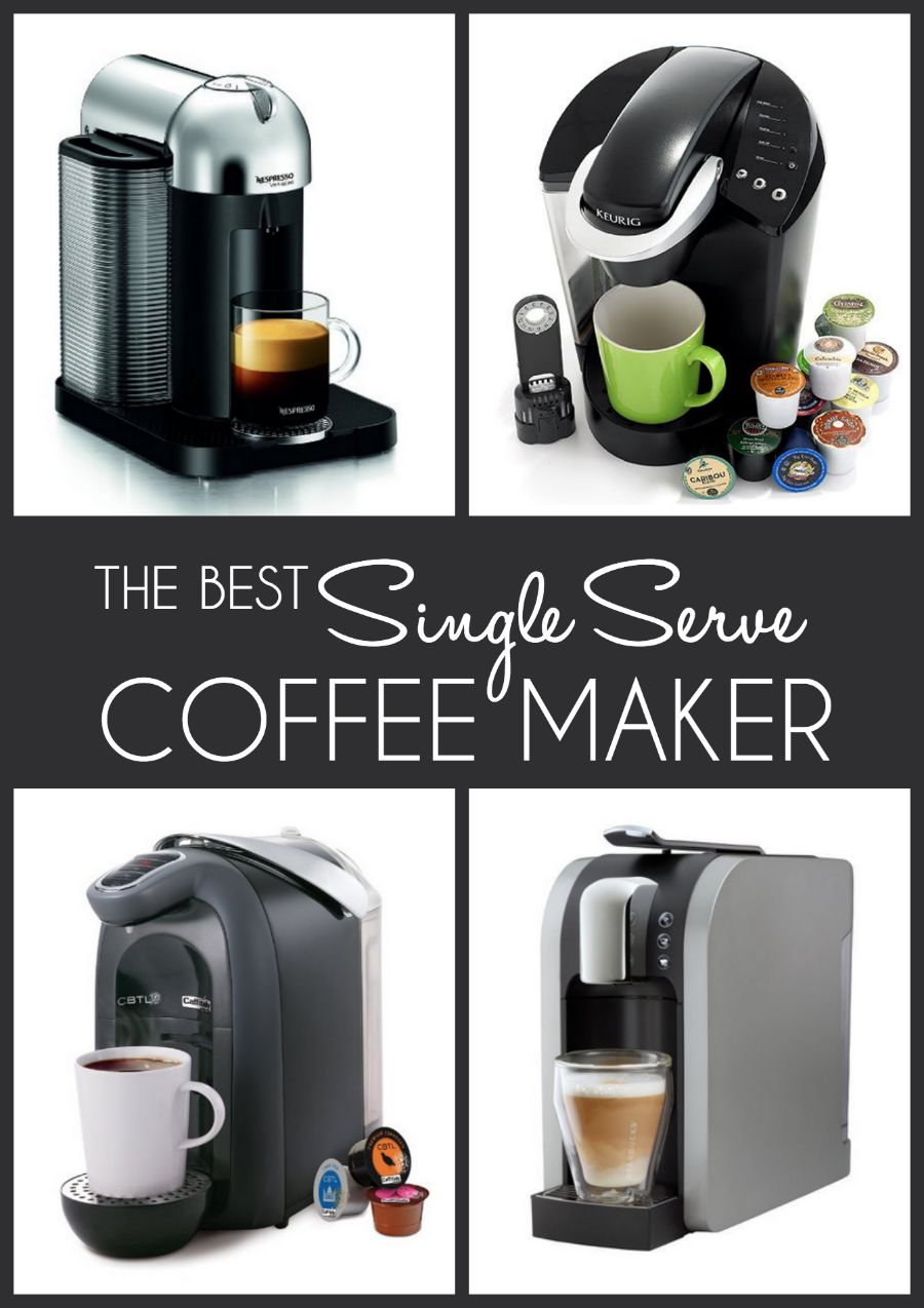 The best single serve coffee makers for Best apartment coffee maker