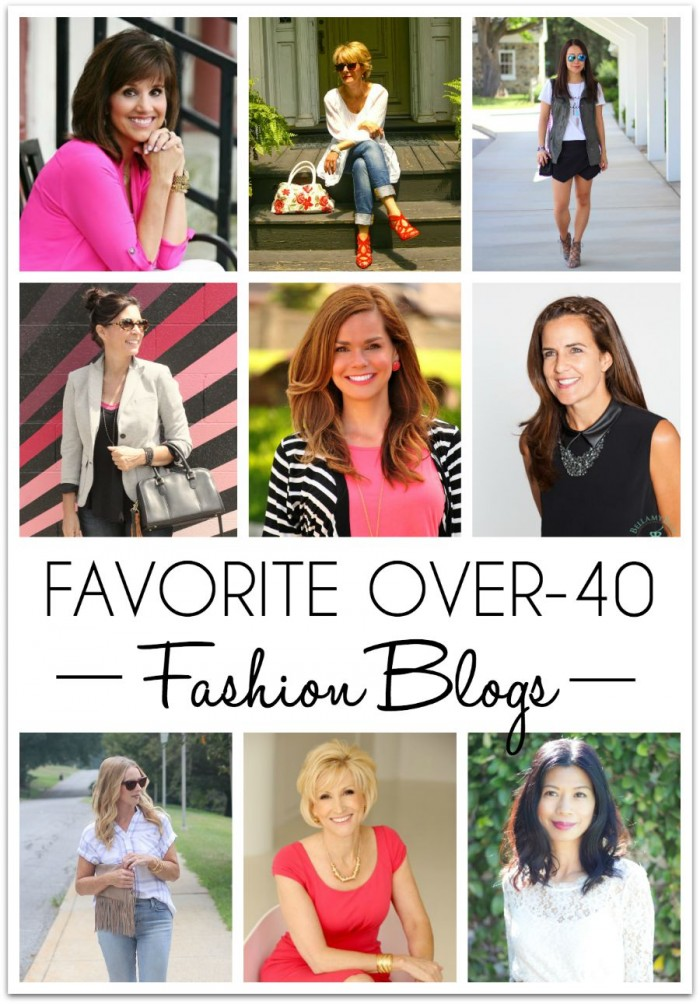 my favorite over40 fashion blogs