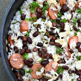 Rice-Beans-with-Sausage