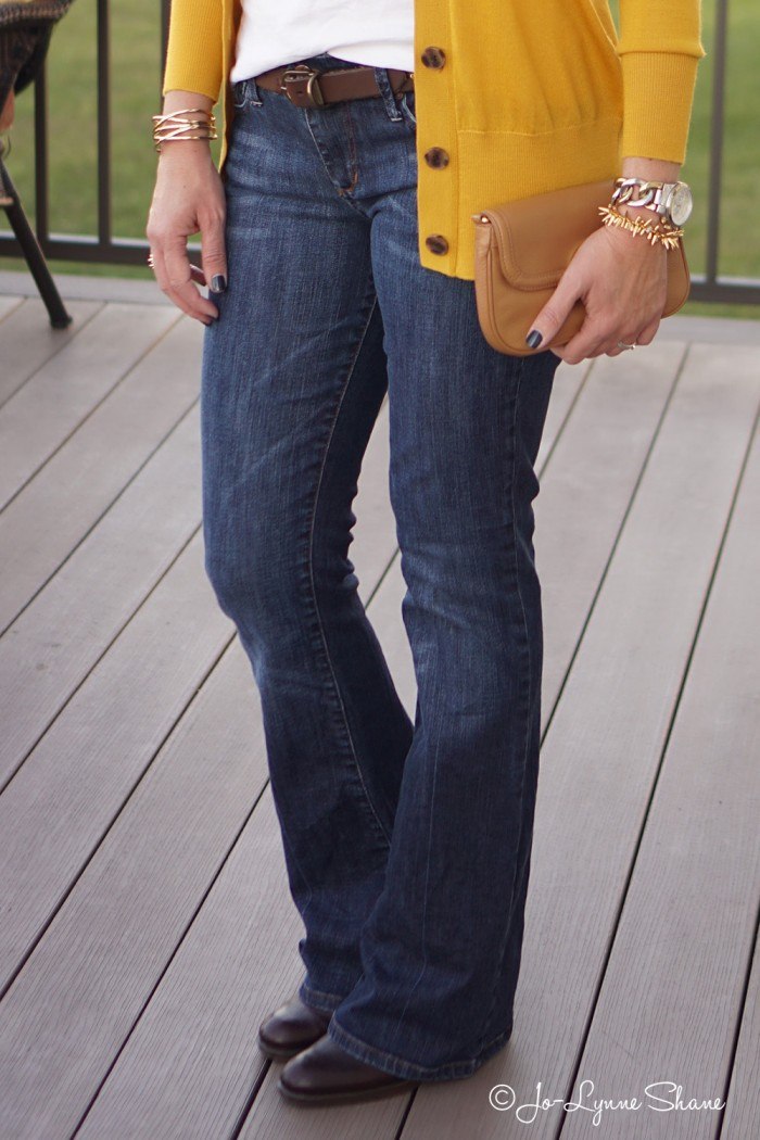 How to Wear Ankle Boots with Bootcut Jeans