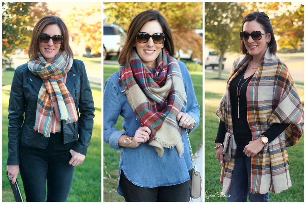 3 easy ways to tie a blanket scarf 3 super easy ways to tie a blanket scarf or any oversized scarf click ccuart Choice Image