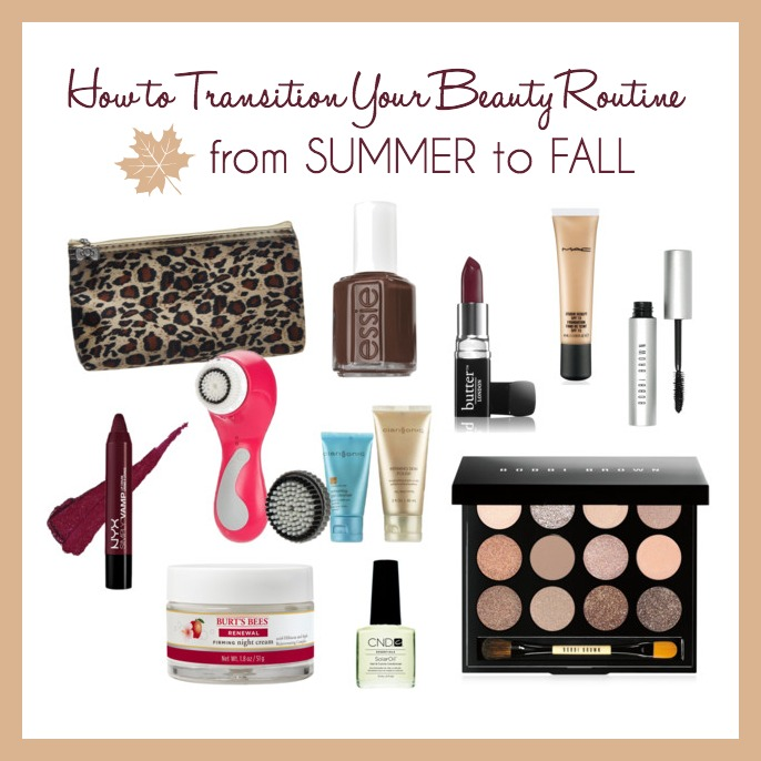 How I'm Transitioning My Beauty Routine from Summer to Fall