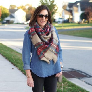 blanket scarf featured