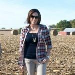 Fall Outfit: Plaid + Khaki
