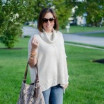 Daily Mom Style: Ivory + Denim