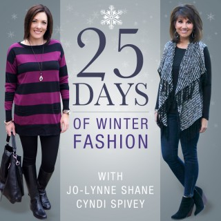 25 Days of Winter Fashion Starts Thursday!!