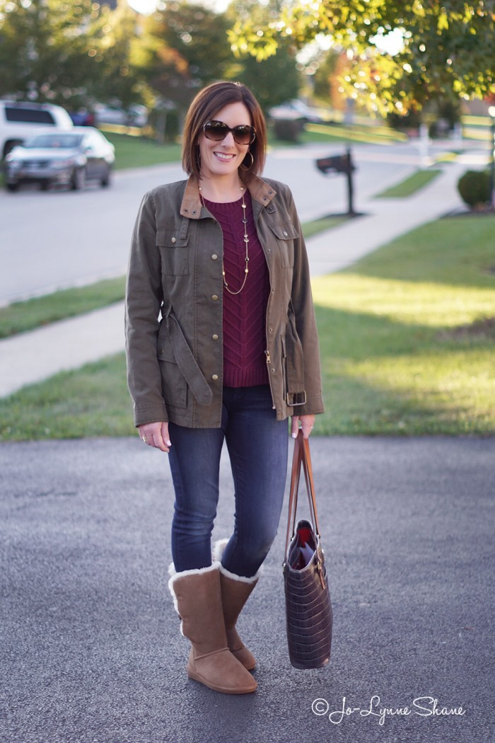 Daily Mom Style Casual Fall Outfit For Women Over 40